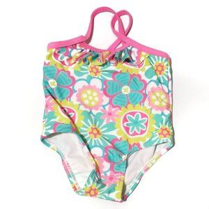 Other - baby swim suit 3/6 months  flower print